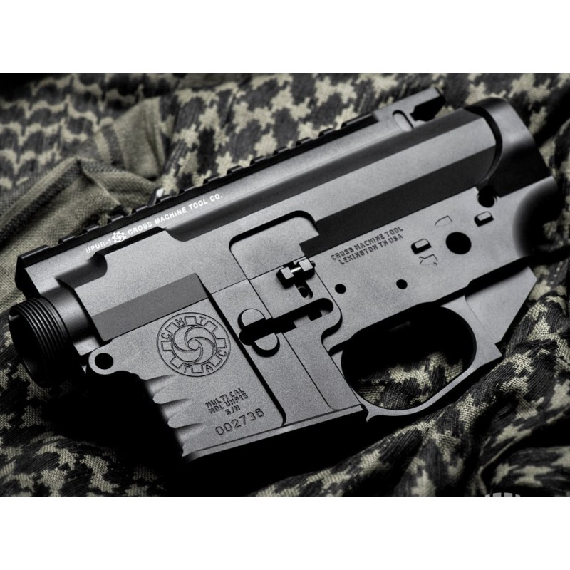 AR 15 CMT Billet Combo Receiver Set