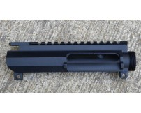 AR 15 CMT UPUR-4 Billet Upper- Slick Side With Dust Cover port